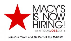 macys hiring