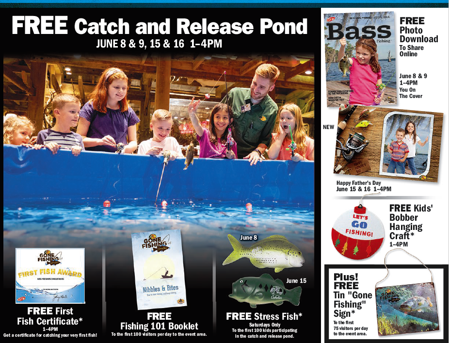 Gone Fishing with Bass Pro Shops - Shop Harrisburg Mall